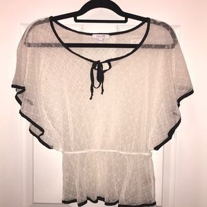 Delia's lace blouse
